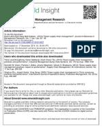 Journal of Advances in Management Research Volume 11 Issue 1 2014 [Doi 10.1108%2FJAMR-07-2012-0027] Luthra, Sunil; Garg, Dixit; Haleem, Abid -- Green Supply Chain Management