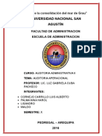 auditoria oprativa