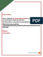 Gateway Examination Guide