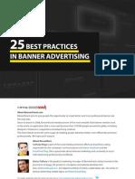 25 Best Practices in Banner Advertising eBook