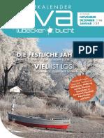 Eventkalender EVA November 2016 - Januar 2017