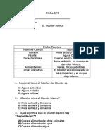 Fichas Técnica comprensión de lectura