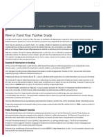 How to Fund Your Further Study _ Careers & Employability _ University of Salford, Manchester