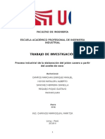 Procesos Industriales II - Proyecto de Investigacion