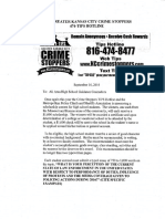 Crime Stoppers Essay Scholarship Contest