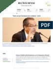 Boletín de noticias KLR 28OCT2016