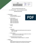 I Concurso Interescolar Proyecta-T