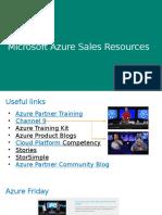 Azure Sales - Module 7 - Tools