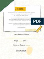 Cuadernillo Alumno 4to Basico