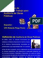 Auditoria de Obras Publicas Papeles de Trabajo