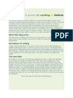 A Novice Guide to Cycling