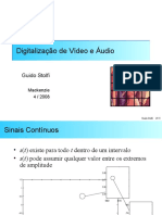 Digitalização de Vídeo e Áudio