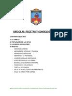 Girgolas Recetas - Version Para Imprimir - Esc de Agronomia 2012