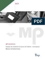 Manual de Medicion Peso Cabina- Contrapeso.version 1Rev.3
