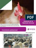 Avances en La Nutricion Avicola