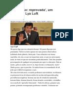 Educação Reprovada Lya Luft