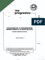 Guzmán.1995. Evaluación de La Contaminación Marina Frente a La Bahía de Paita_DQO, GRASAS, SULFUROS