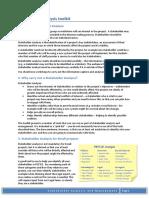 Stakeholder Analysis Toolkit v3