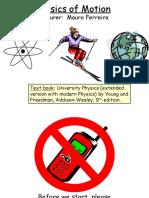 3 Fisika Dasar Physics of Motion