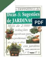 O Livro Definitivo de Dicas e Sugestões de JARDINAGEM
