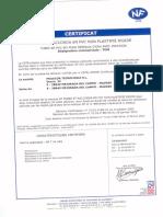 Certificado Marca NF Feb'13