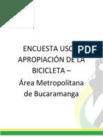 Informe Encuesta Uso Y Apropiacion de La Bicicleta (1)