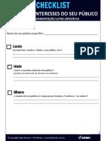 Fbultimate Checklist Metodo de Segmentacao Ultra Especifica