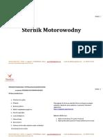 Szekla-Sternik-Motorowodny