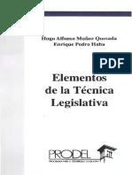 Elementos de La Técnica Legislativa