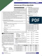 Cálculo de Intereses Por CTS No Depositada - Casos Prácticos