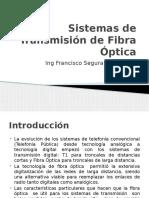 Sistemas de Transmisión de Fibra Óptica