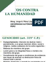 d. Penal . Delitos Contra La Humanidad