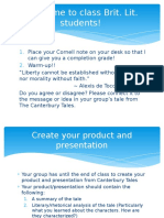 canterburytales presentation product