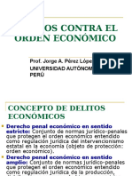 DERECHO PENAL-  Delitos Contra El Orden Económico