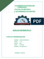 Parametrizaciòn