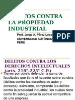 Derecho Penal  -Delitos Contra La Propiedad Industrial