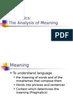 Semantics Lecture 2