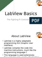 Basics of LabView