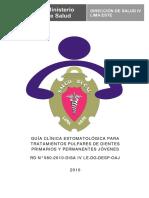 004 RD 0560 2010 Gui Clinica Estomatologica