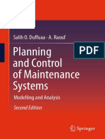 Planning and Control of Maintenance Systems_ Modelling and Analysis-Springer International Publishing (2015)