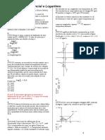 Revisão de Exponencial e Logaritmo