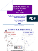 Programa Nacional Cancer Mama Chile