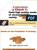 Variety and Seed Selection