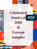 Celebrated Stories of 2016 Excerpt Sampler
