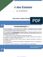 Lei 13303 Prof Erick Alves e Herbert Almeida