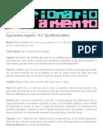 Gaycionario Argento R-Z (by Mhoris EMm)