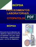 01 Biopsia, Procedimentos Laboratóriais, Citopatologia