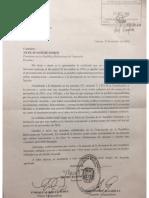 Notificacion de La Asamblea Nacional Al Presidente de La Republica