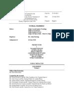 Popovic et al. Trial Judgement (Srebrenica Genocide) Volume I and II