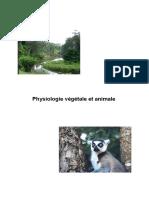 Physiologie Végétale Et Animale
